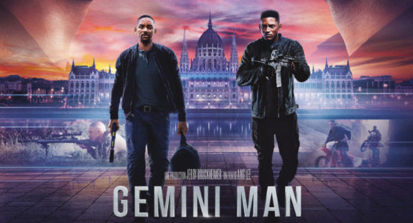 New international poster for Ang Lee's Gemini Man featuring Will Smith
