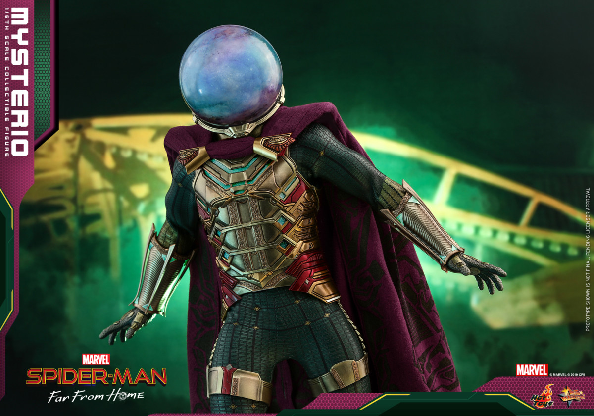 Hot Toys' Spider-Man: Far From Home Mysterio collectible figure revealed