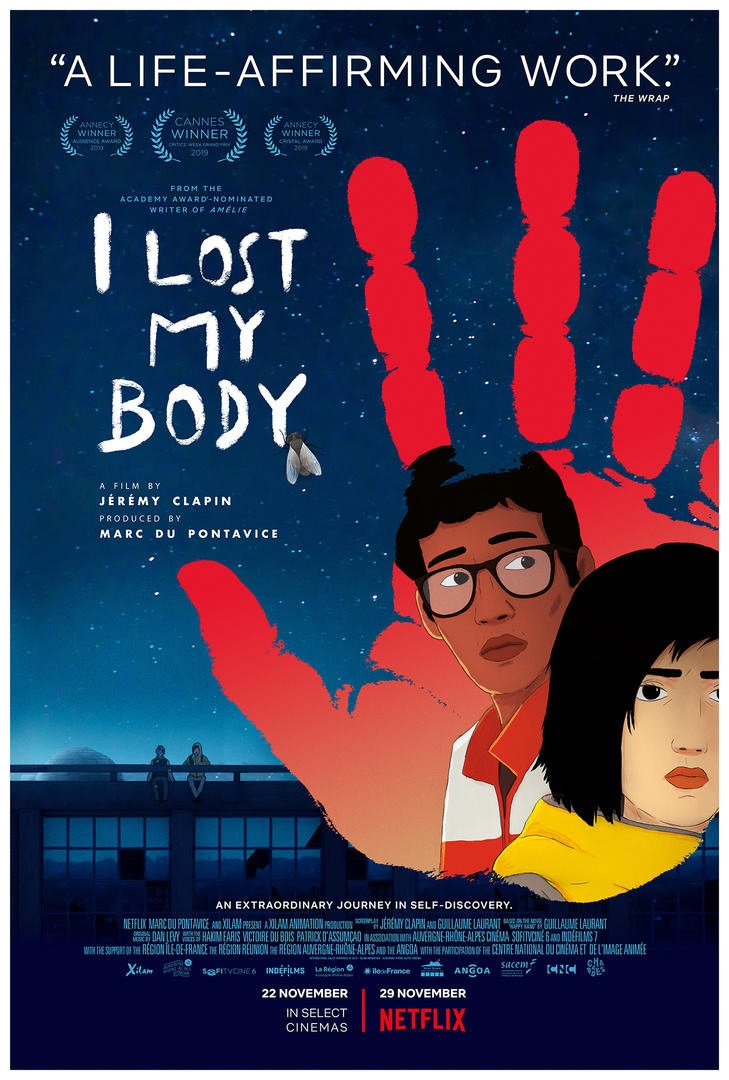 Movie Review - I Lost My Body (2019)