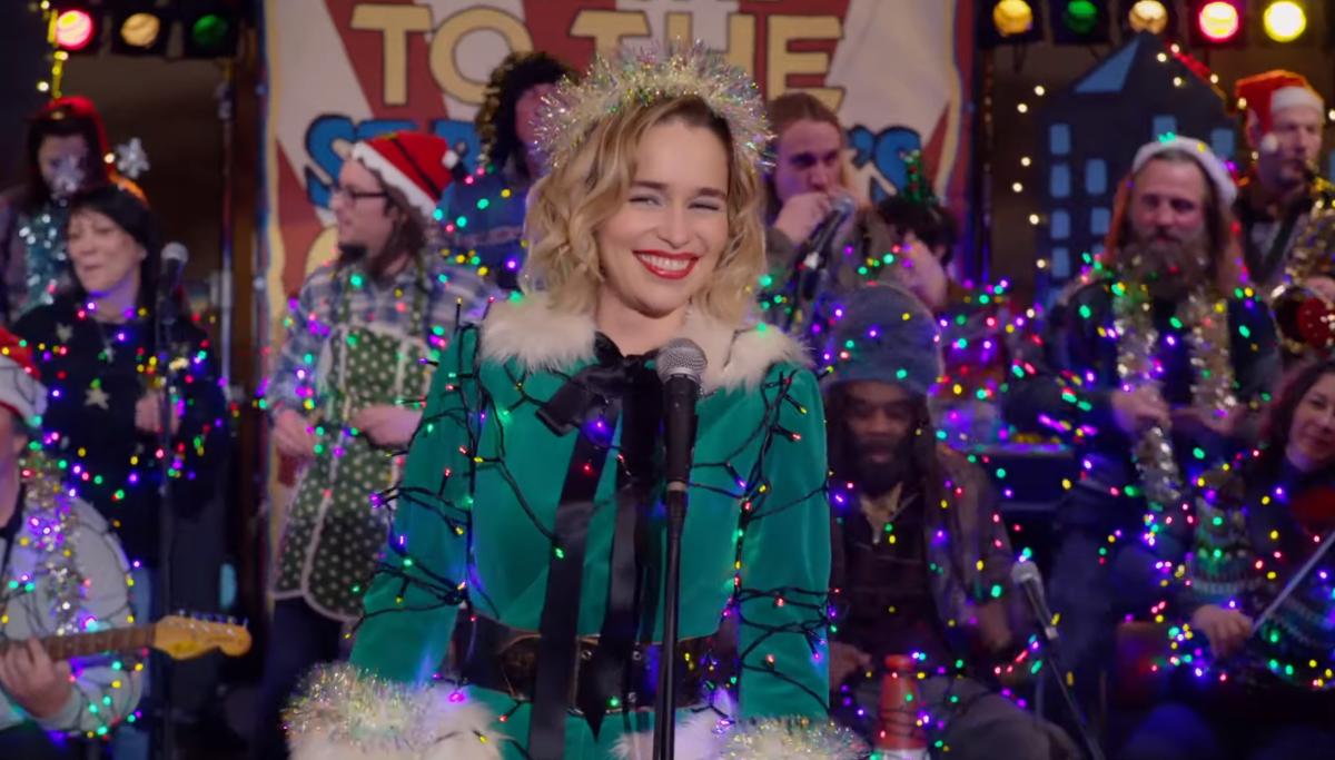 New trailer for festive rom-com Last Christmas starring Emilia Clarke and Henry Golding