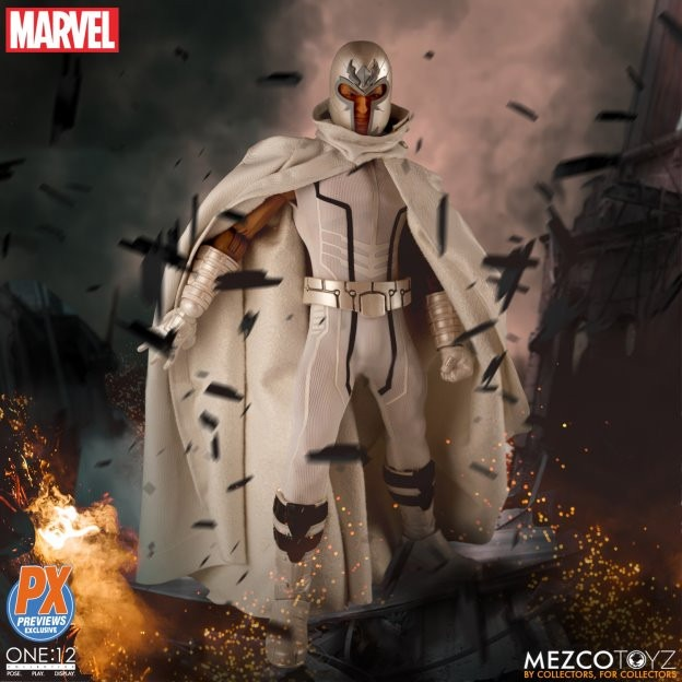 Mezco Toys' Marvel NOW! Magneto One: 12 Collective figure revealed