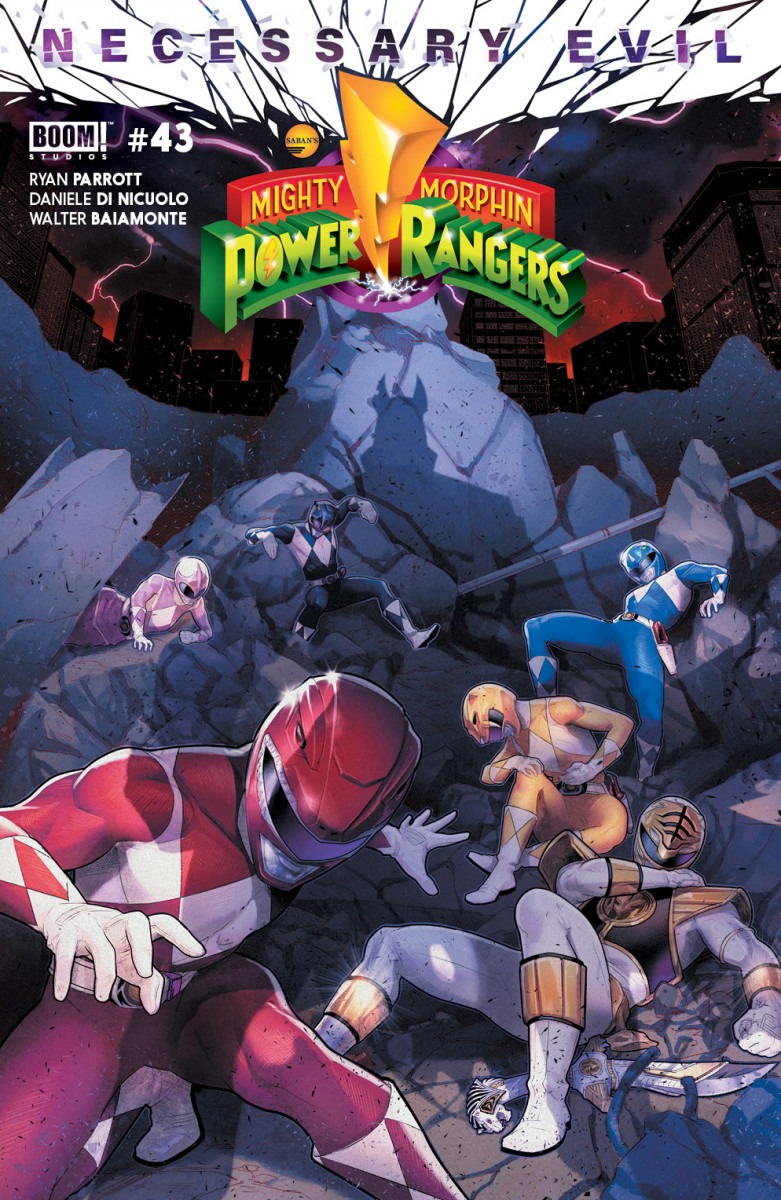 Comic Book Preview - Mighty Morphin Power Rangers #43