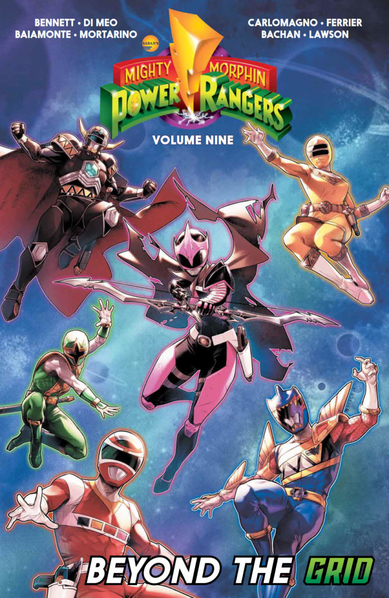 Comic Book Preview - Mighty Morphin Power Rangers Vol. 9