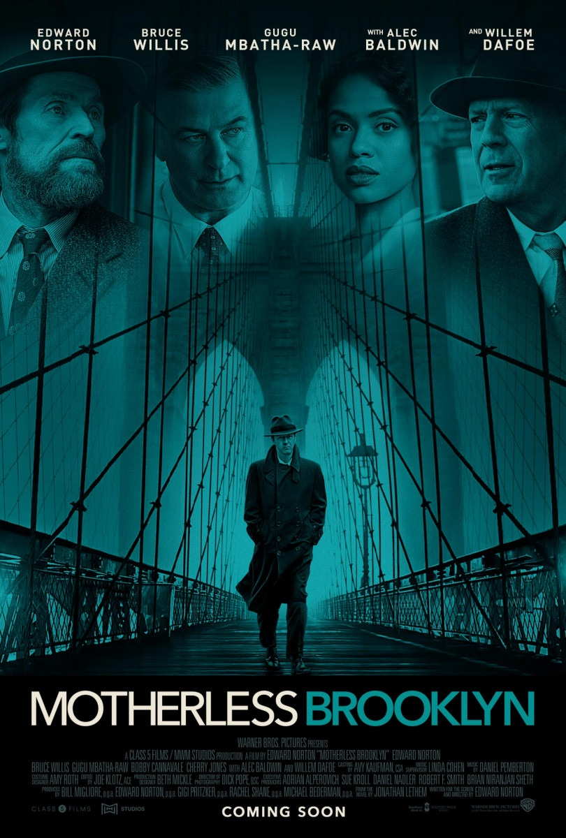 Edward Norton's Motherless Brooklyn gets a new poster