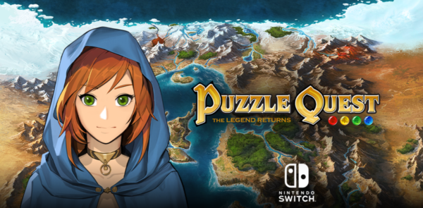 Puzzle Quest: The Legend Returns coming to Nintendo Switch