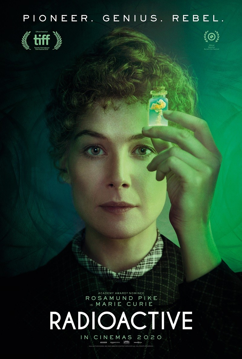 Rosamund Pike is Marie Curie in first trailer for Radioactive - Flickering Myth