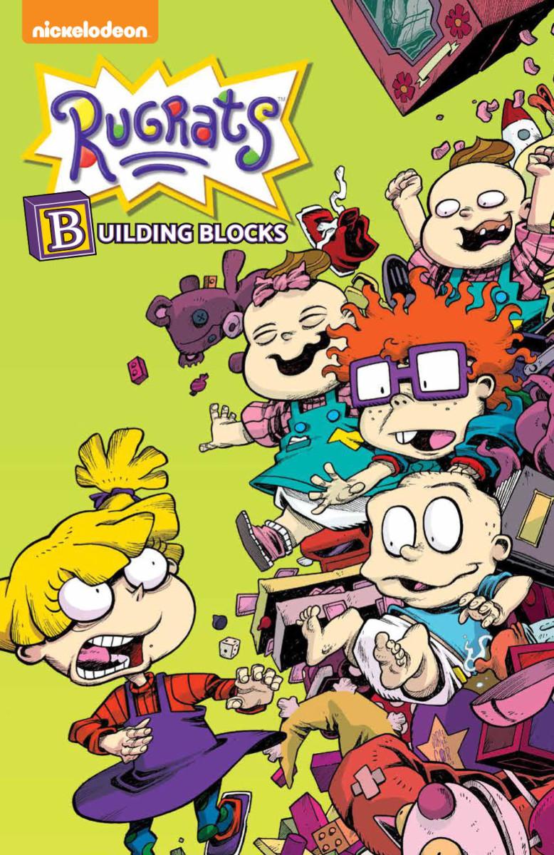 Comic Book Preview - Rugrats: Building Blocks