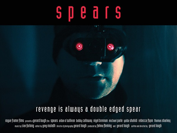 Exclusive teaser poster reveal for mystery-thriller Spears