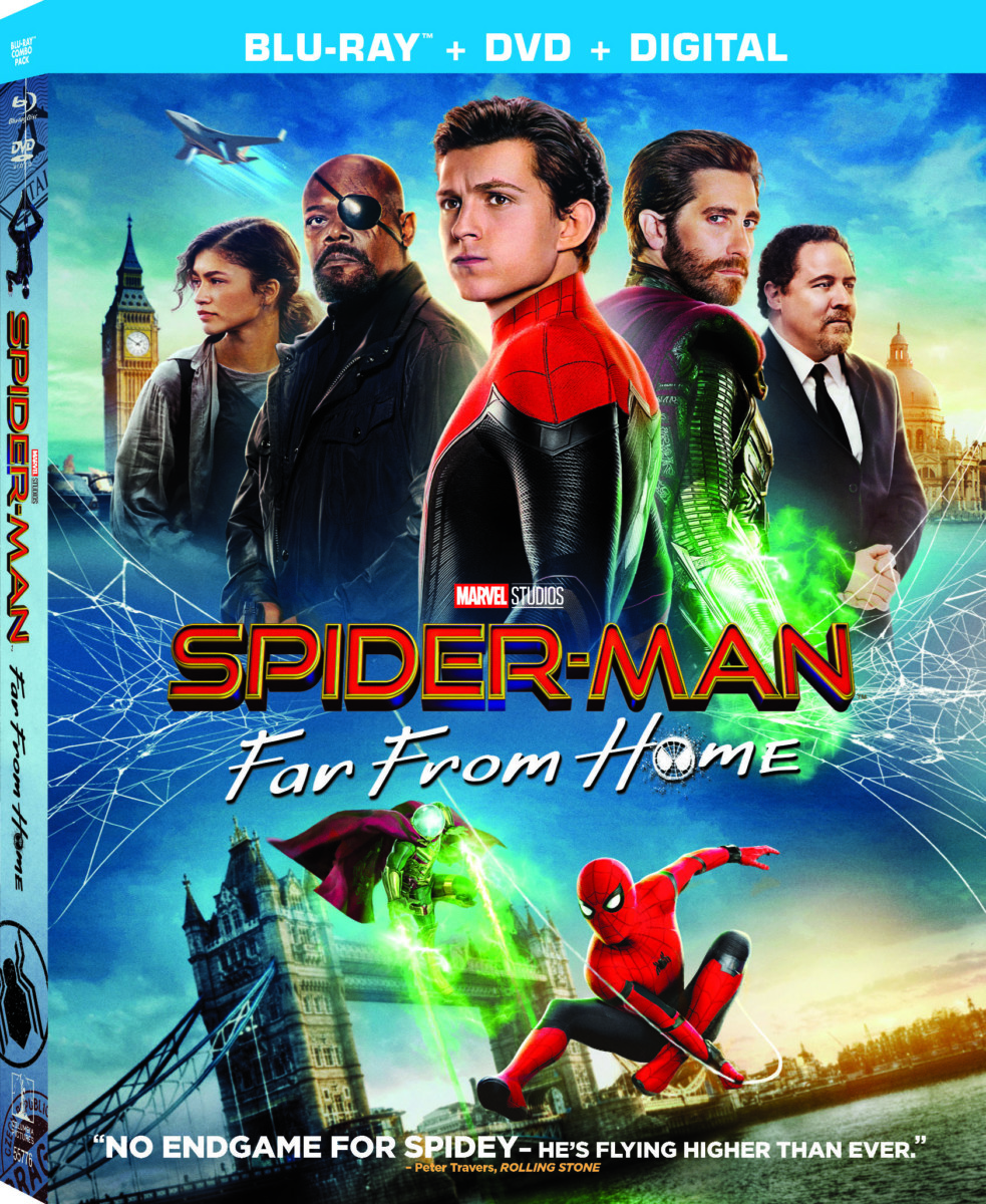 Blu Ray Review Spider Man Far From Home 2019