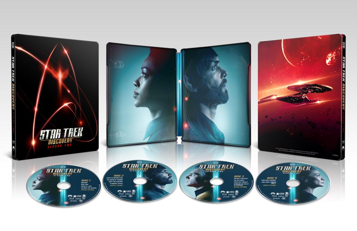 Star Trek: Discovery Season 2 Blu-ray steelbook release details revealed