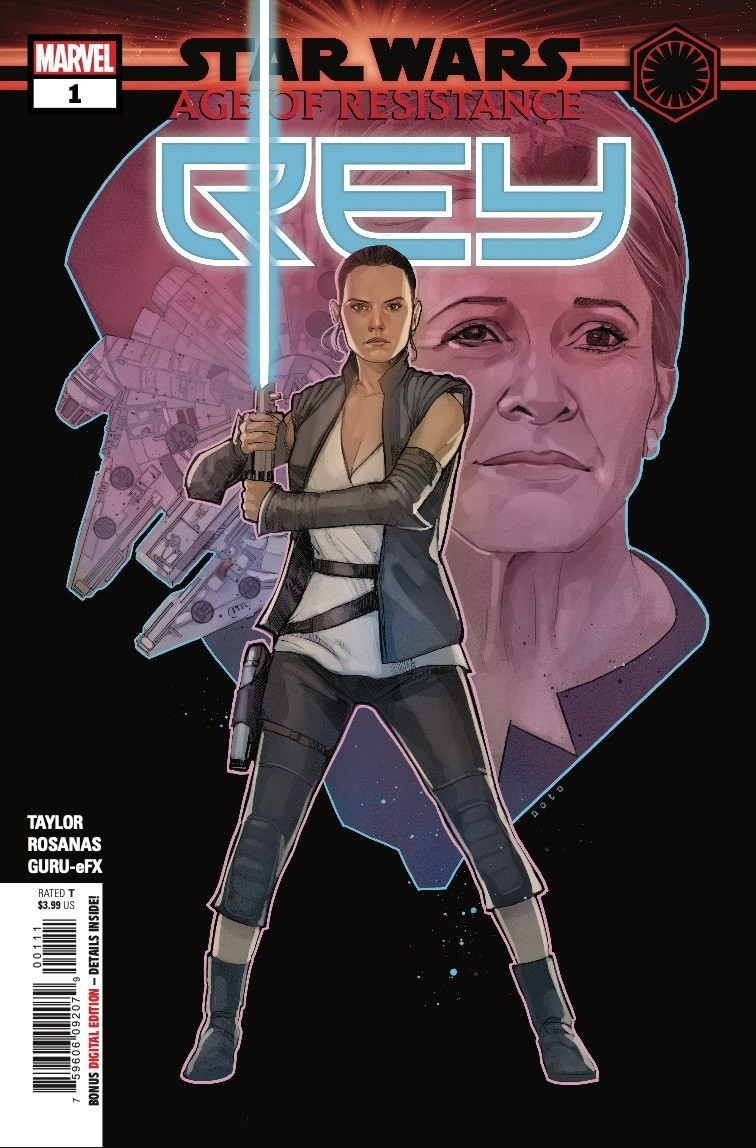 Comic Book Preview - Star Wars: Age of Resistance – Rey #1