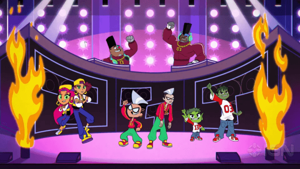 Teen-Titans-Go-Vs.-Teen-Titans-Exclusive-_We-Are-Titans_-Musical-Scene-1-42-screenshot-600x338