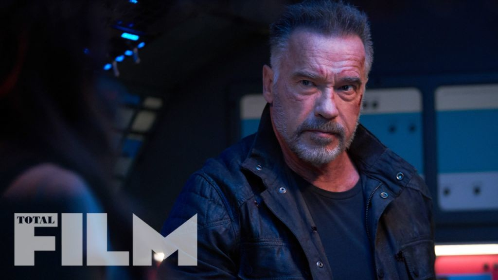 Terminator: Dark Fate images feature the T-800, Rev-9, Sarah Connor and Grace