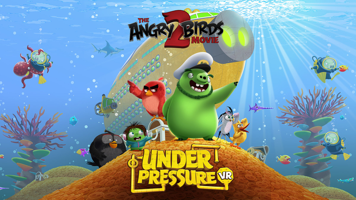 Video Game Review The Angry Birds Movie 2 Vr Under Pressure
