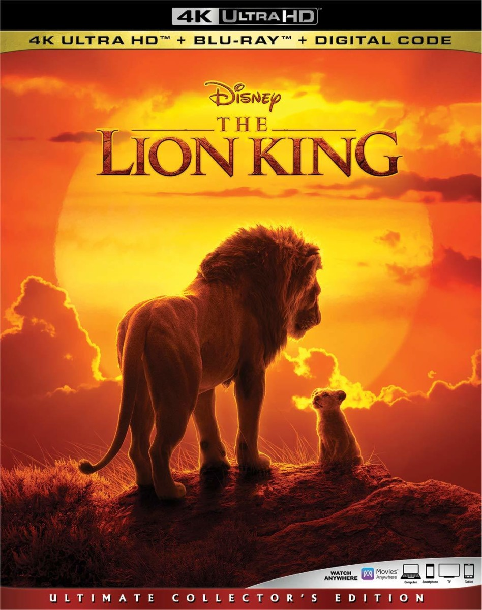 disney u0026 39 s the lion king 4k ultra hd  blu