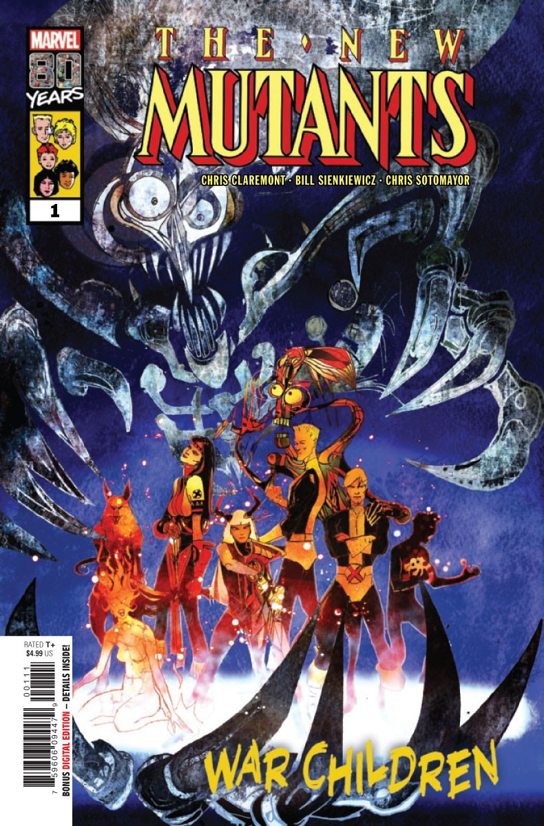 Comic Book Preview - The New Mutants: War Children