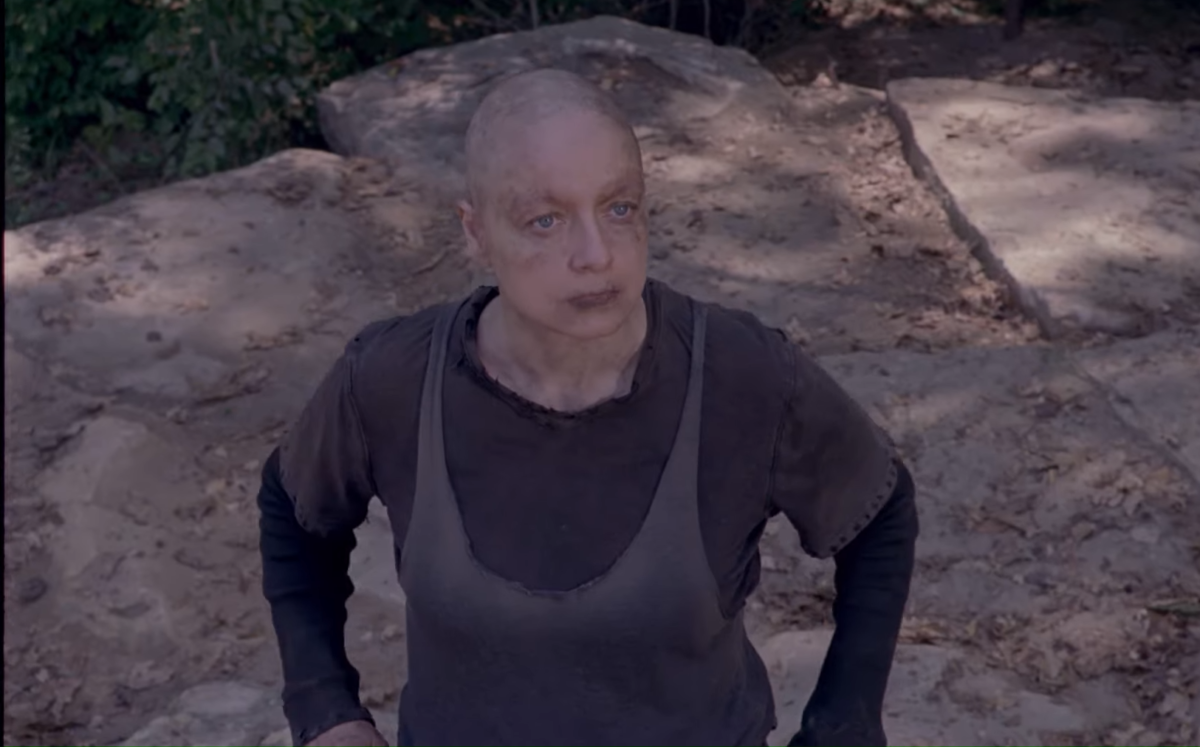 Samantha Morton's Alpha takes fans behind-the-scenes of The Walking Dead season 10