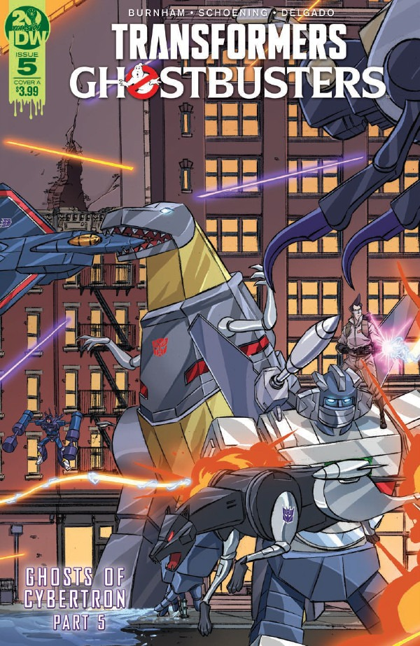 Comic Book Preview - Transformers/Ghostbusters #5