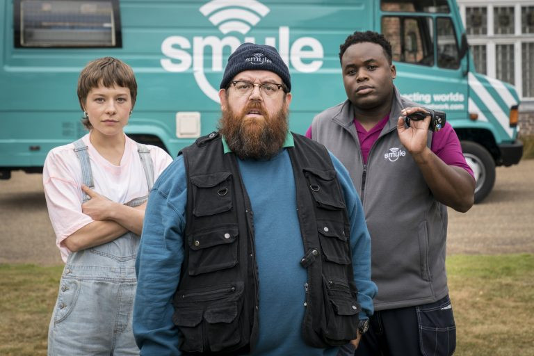 First images from Nick Frost and Simon Pegg's Truth Seekers
