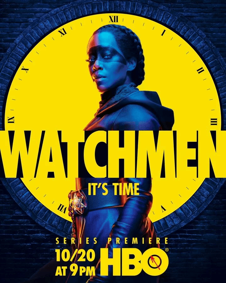 Watchmen poster features Regina King's Sister Night