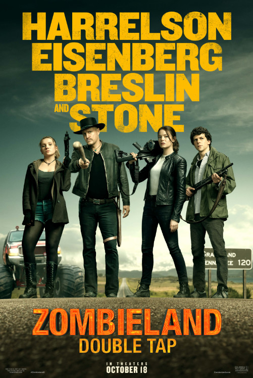 Zombieland: Double Tap gets a new poster and featurette