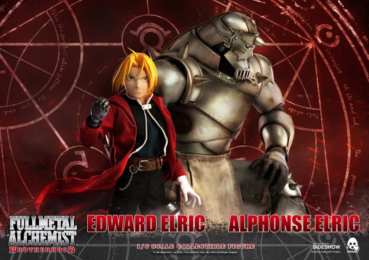 Al Elric threezero's alphonse elric & edward elric fullmetal