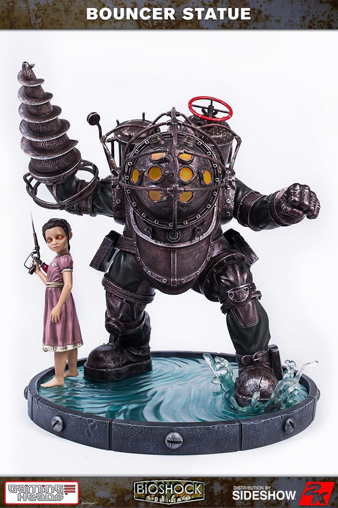 Bioshock's Big Daddy - Bouncer gets a collectible statue from Gaming Heads