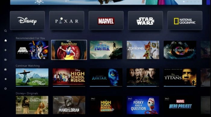 Disney+ full launch line-up of movies and TV shows revealed