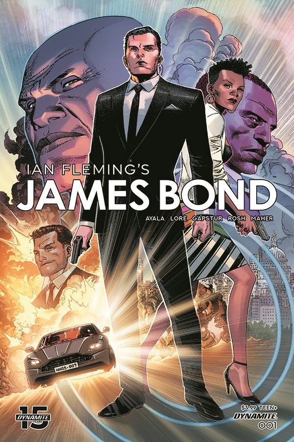 Dynamite announces new James Bond comic book series