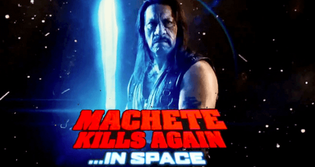 Danny Trejo wants to direct Machete Kills Again... In Space