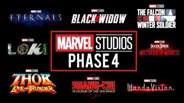 Marvel's Phase Four announcement title videos leak online