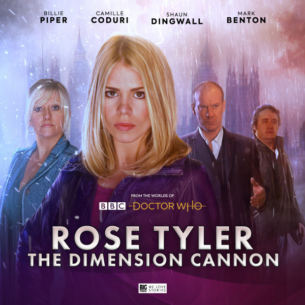 Billie Piper returns to the world of Doctor Who for Rose Tyler: The Dimension Cannon