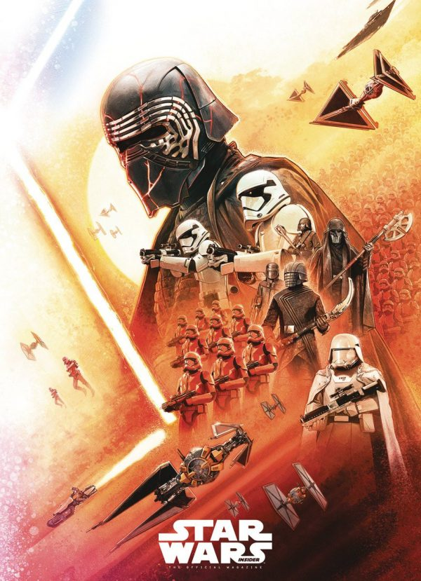 Star Wars The Rise Of Skywalker Promo Poster Showcases Kylo Ren The Knights Of Ren And The First Order