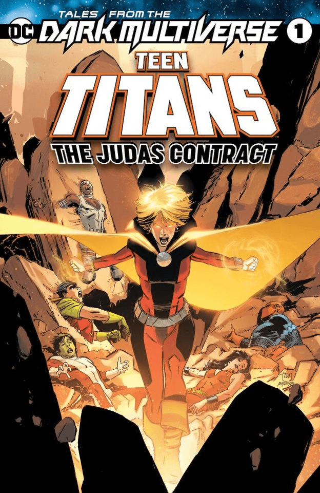 DC's Tales from the Dark Multiverse to reimagine Teen Titans: The Judas Contract