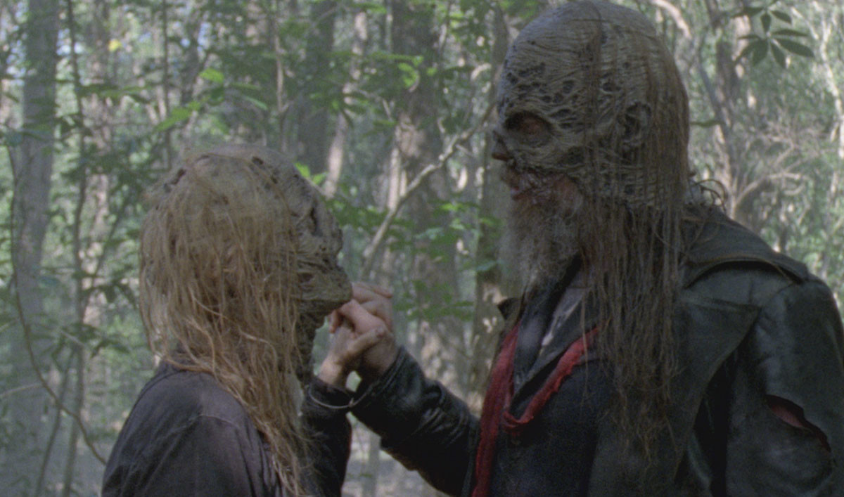 The Whisperers declare themselves 'the end of the world' in The Walking Dead season 10 promo