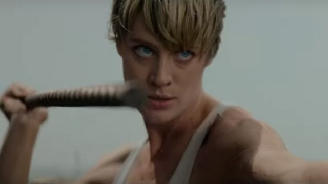 Grace battles the Rev-9 in new clip from Terminator: Dark Fate