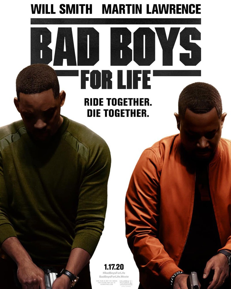 Will Smith and Martin Lawrence are Bad Boys for Life on new poster for action comedy sequel