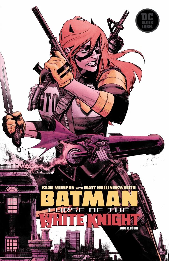 Comic Book Preview - Batman: Curse of the White Knight #4