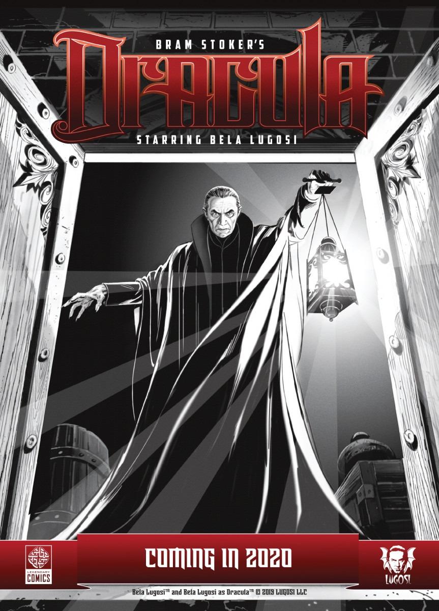 Bela Lugosi returning as Dracula courtesy of Legendary Comics