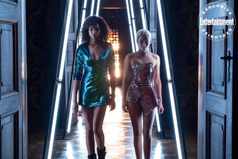 Ella Balinska and Kristen Stewart featured in new Charlie's Angels image