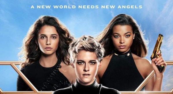 Kristen Stewart, Naomi Scott and Ella Balinska are ready for action on Charlie's Angels poster