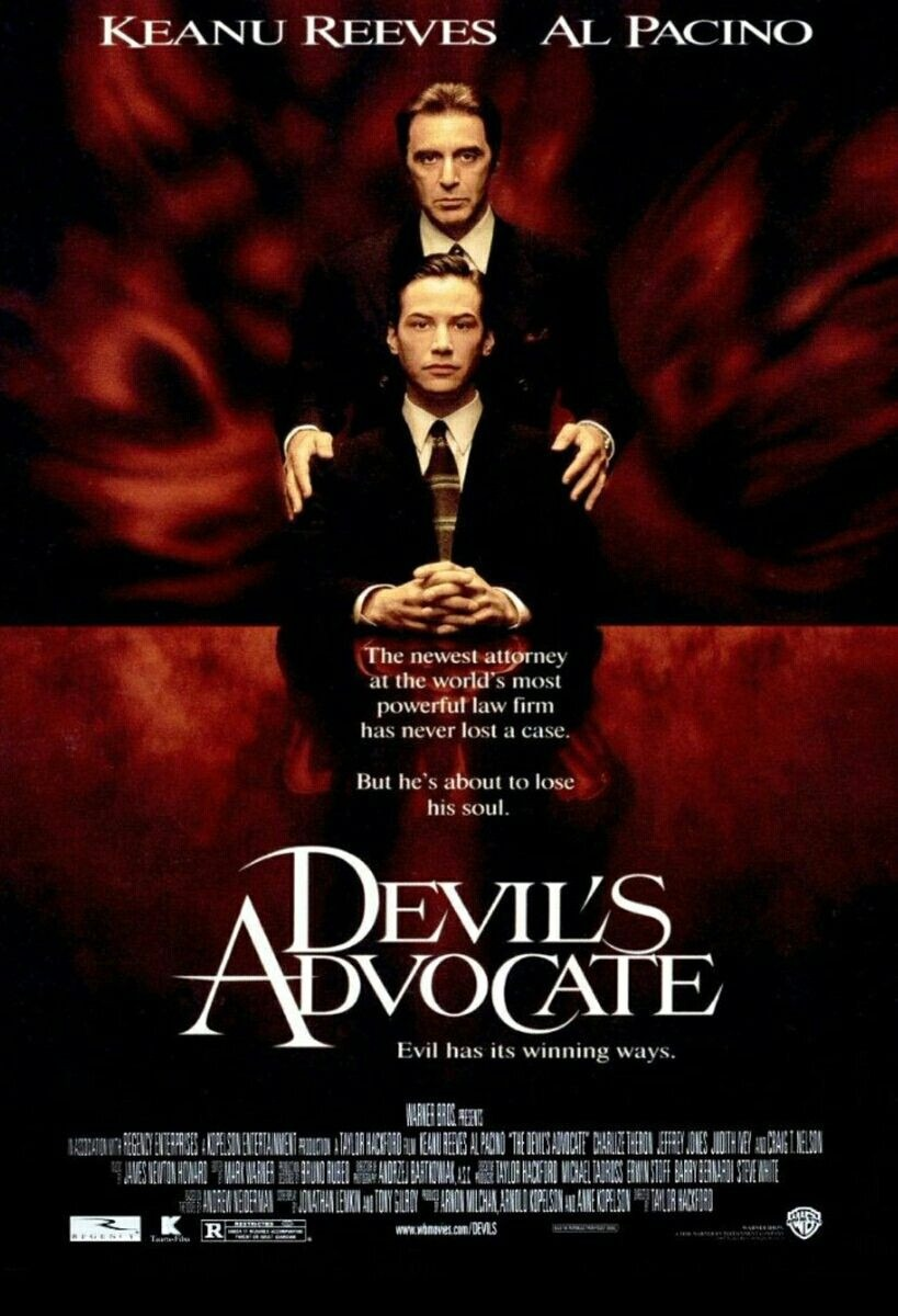 October Horrors 2019 Day 19 - The Devil's Advocate (1997)