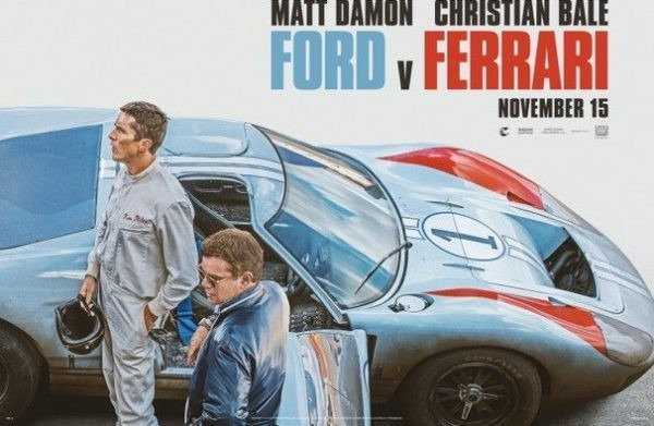 New trailer for Ford v Ferrari starring Matt Damon and Christian Bale