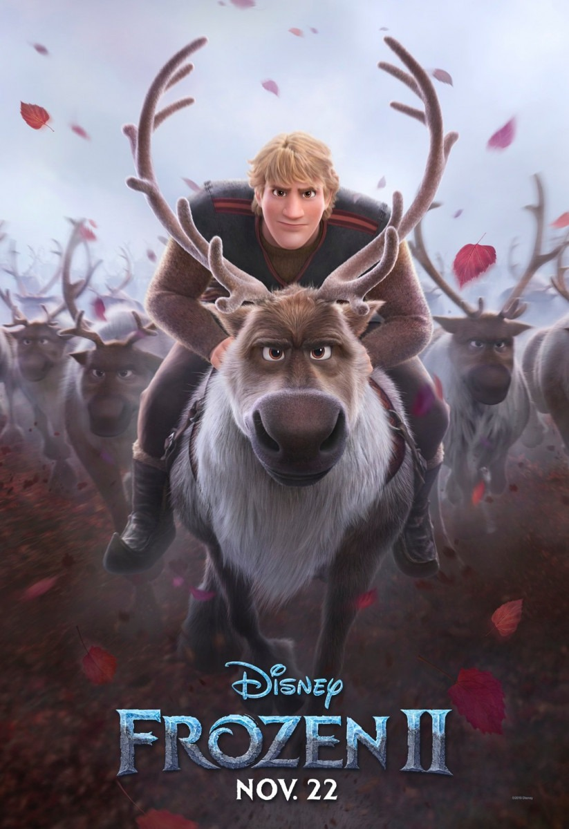 Frozen 2 gets four new character posters and a TV spot