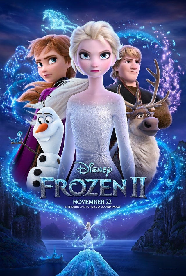 Frozen 2 gets a magical new poster