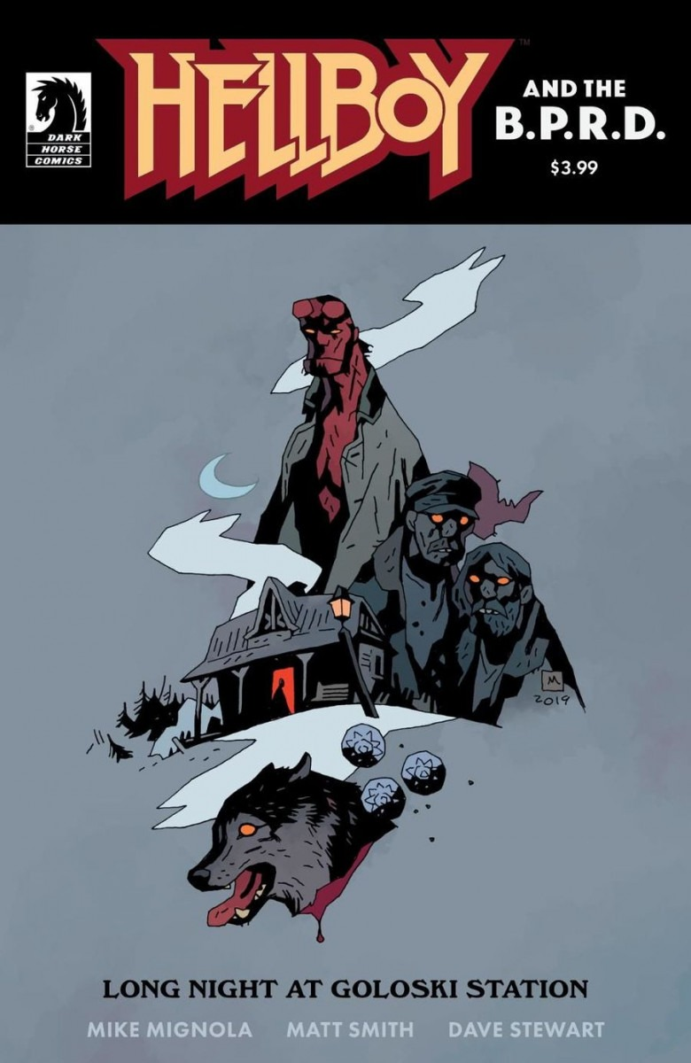 Comic Book Preview - Hellboy and the B.P.R.D.: Long Night at Goloski Station
