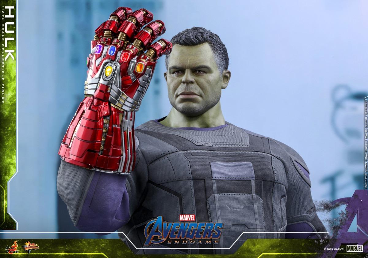 Avengers: Endgame Hulk Movie Masterpiece Series figure revealed by Hot Toys