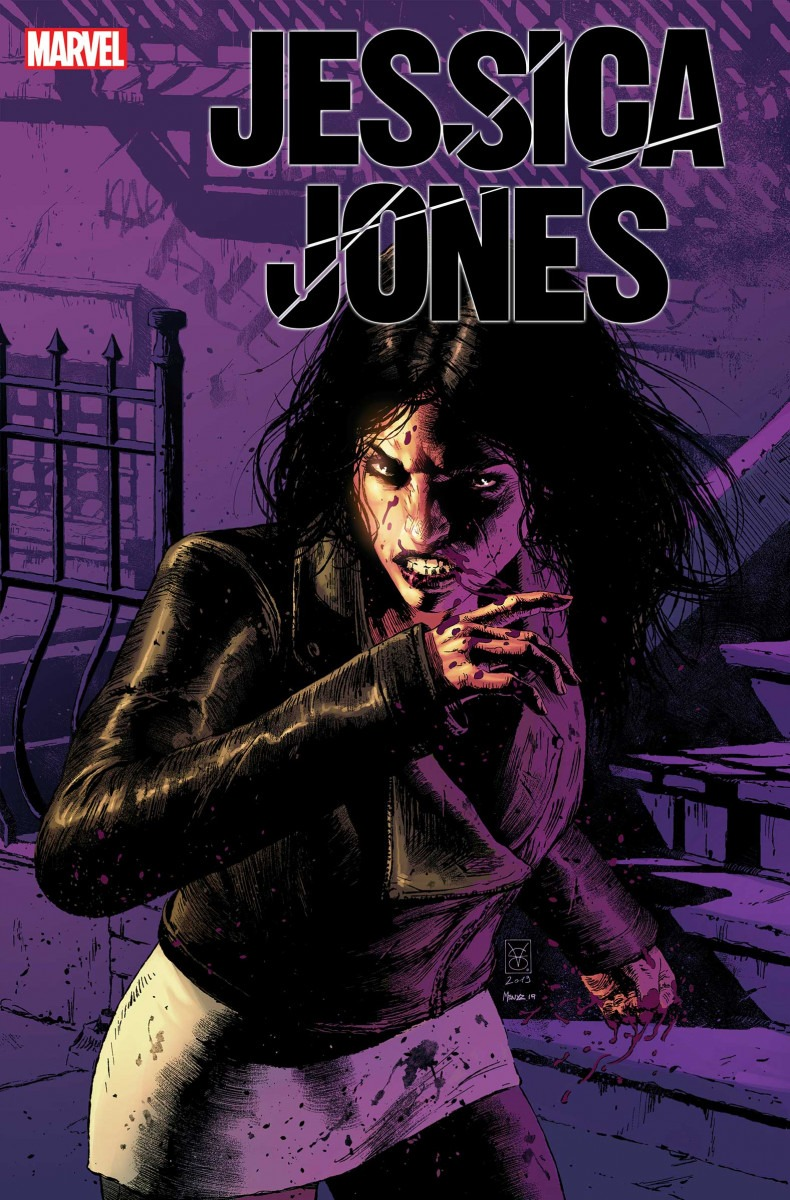 Jessica Jones: Blind Spot coming to print this January from Marvel