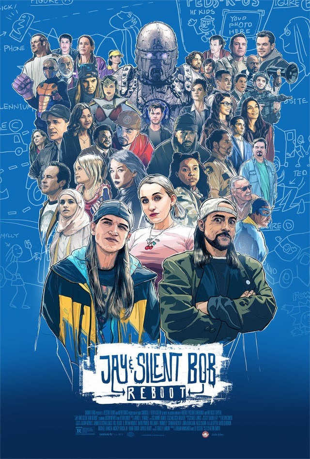 Kevin Smith's Jay and Silent Bob Reboot gets a new poster