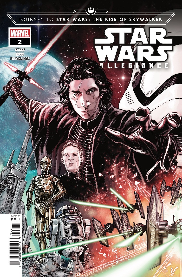 Comic Book Preview - Journey to Star Wars: The Rise of Skywalker – Allegiance #2